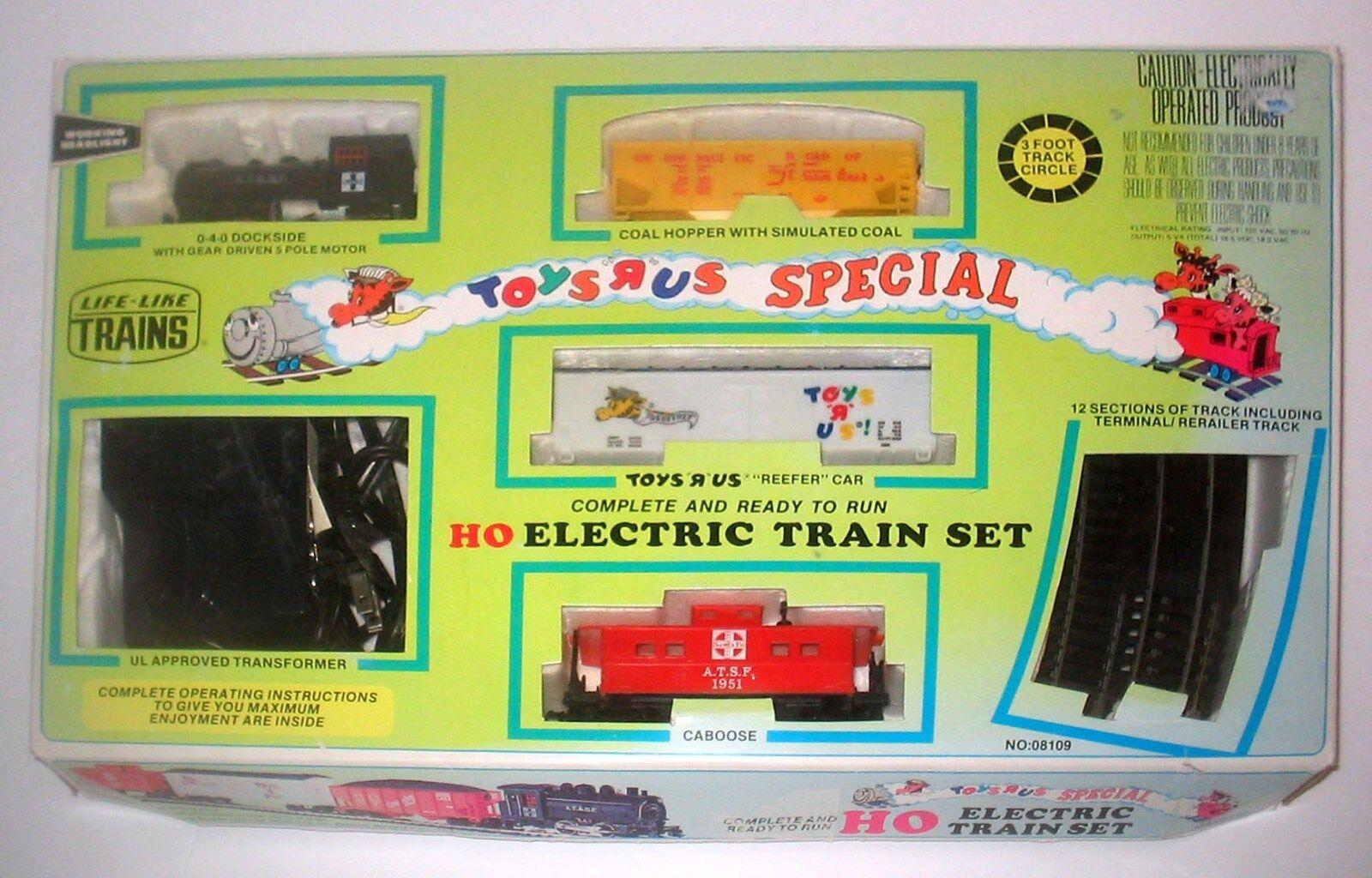 Vintage Life Like HO Scale TOYS TOYS TOYS R US EXPRESS TRAIN c60fe7