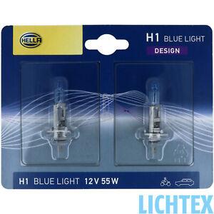 H1 55 Watt Xenon Look Glühbirnen Glühlampen Birnen Leuchtmittel Licht Weiss Set