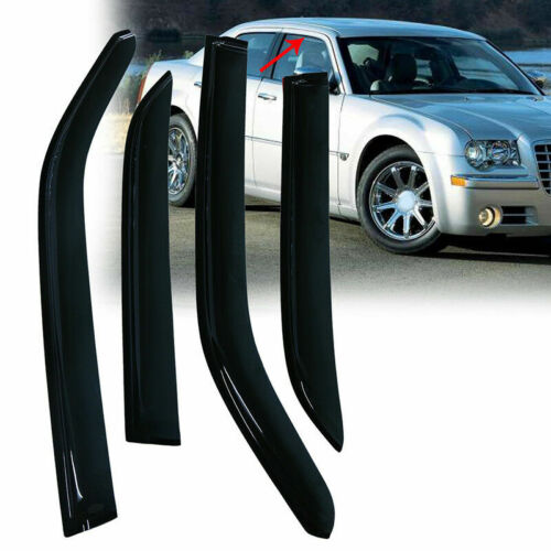 Window Visors Fit For Chrysler 300 4Door 05-10  94505 Vent Shade AA814M