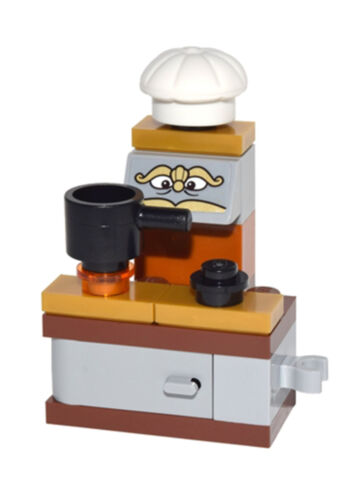 Lego Disney Stove dp030s From 41067 Princess Belle Minifigure Figurine New