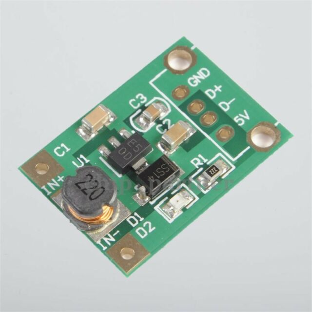 DC-DC 1-5V to 5V Step Up Power Supply Module 500mA Boost Converter Board 0.5A