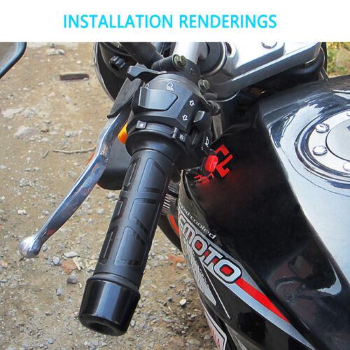 Electric Motorcycle Heated Grips Motorbike Bike ATVs Handlebar Hot Warm Hands