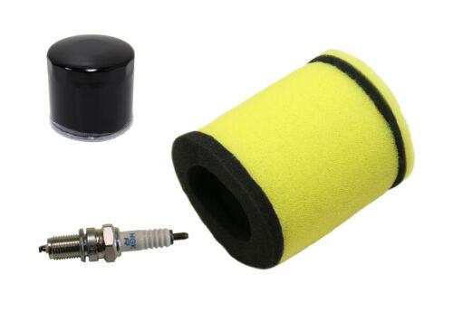 Oil Filter /& NGK Spark Plug 2002-2007 Suzuki Eiger 400 2x4 /& 4x4 Air Filter