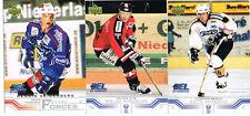 3 DEL Playercards 2001/02 zum aussuchen