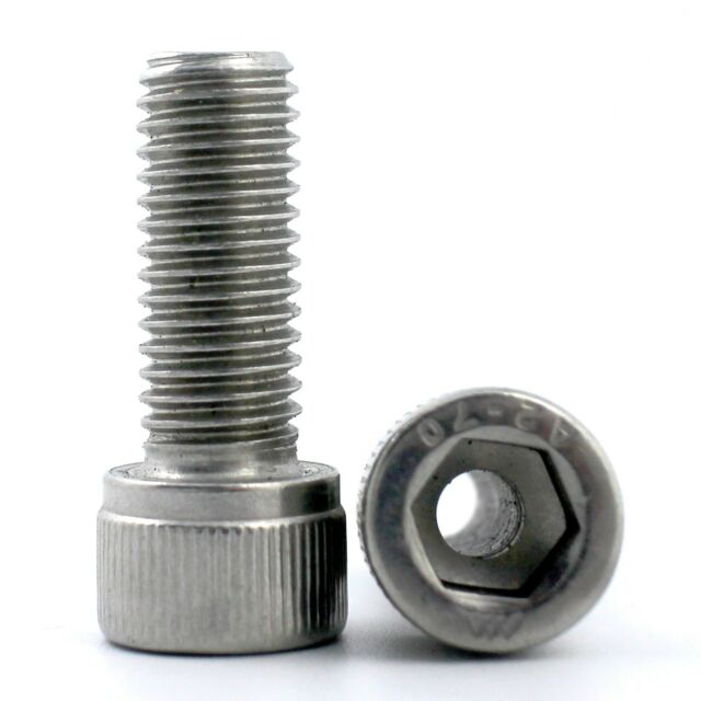M6 - M16 304 Stainless Steel Allen Hex Socket Head Cap Hollow Screws Bolt Select
