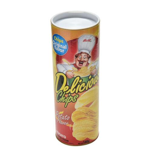 1 Pcs Trick Potato Chip Can Novelty Joke Prank Jump Snake Funny Tricky Toys LA
