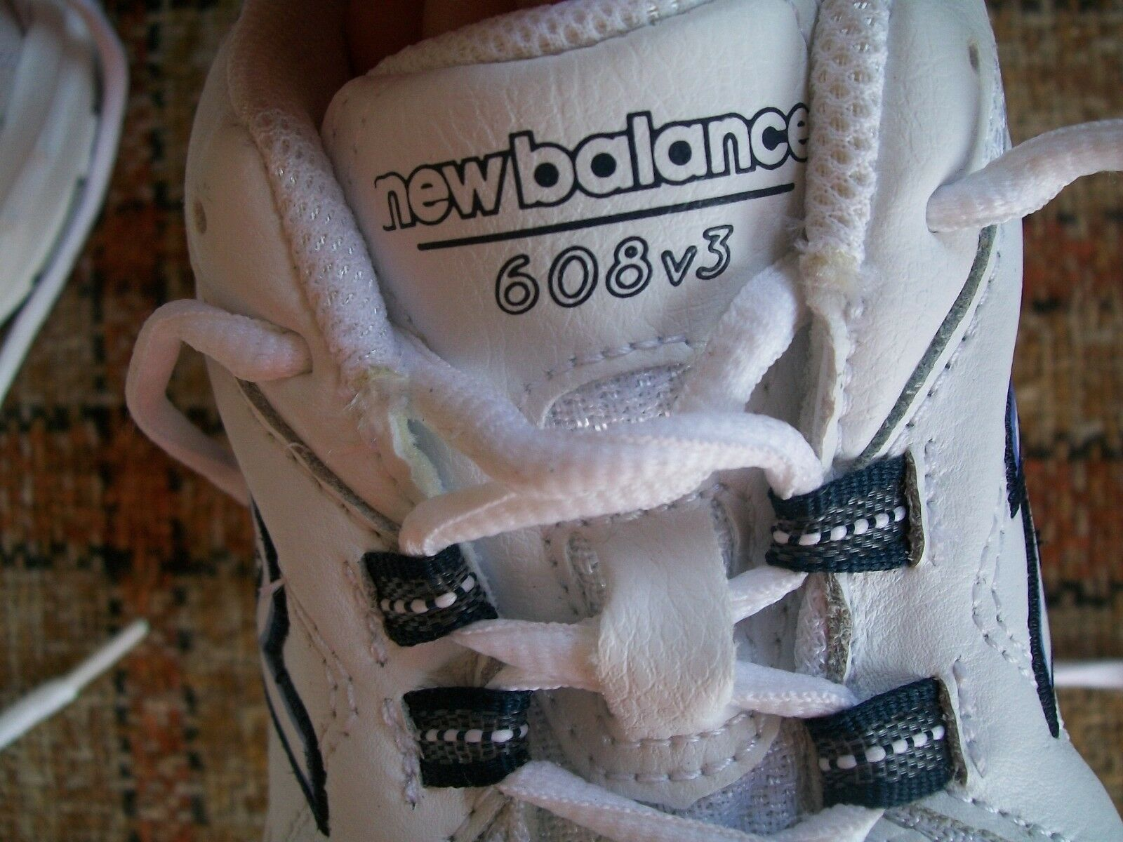 New Balance Womens Size 6.5D () White Cross Trainers WX608V3W