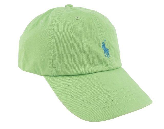 Buy Mens Polo Ralph Lauren Hat Cap Golf Casual Oasis Green 538006 ... c95f3aacef1