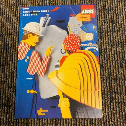 260 Lego Idea Book 1990 Book w Unused Sticker Sheet 1990 Pirates Castle