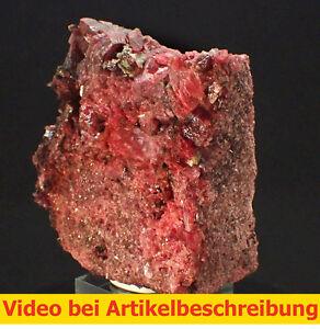 5974-Rhodonit-Morro-da-Mina-mine-Brasilien-minerau-specimen-Mineral-MOVIE