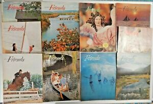 Lot of 10 Friends Magazines 1964 - 1965
