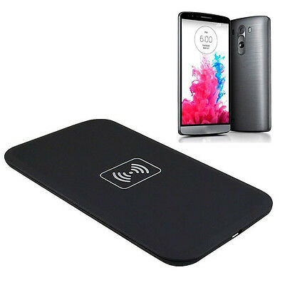 Qi Wireless Charger Charging Pad for LG G3 D851 D850 D855 F400 F460 Perfect