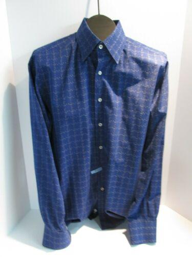 Canali Italy Mens Large Shirt