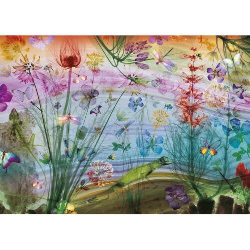 papillons G6601 fleurs Voir à travers la nature 1000 pièces Gibsons Puzzle