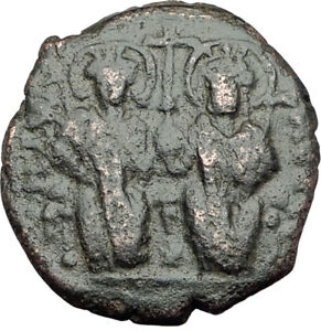 Coins & Paper Money Well-Educated Justin Ii And Sophia 565-578 Ad Large K Coins: Ancient