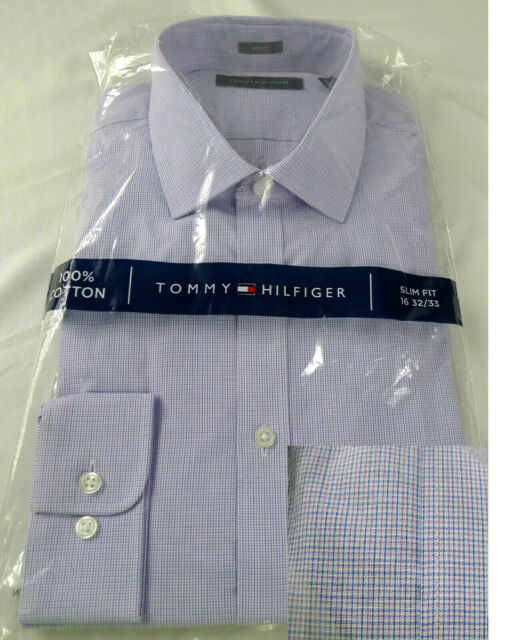 Orange Tommy Hilfiger Dress Shirt Spread Collar 100/% Cotton