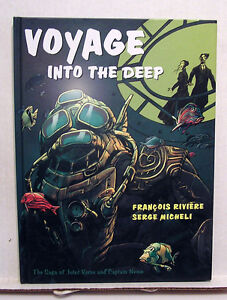 Voyages-Into-the-Deep-Jules-Verne-amp-Capt-Nemo-Hardcover-Comic-Book-L6804
