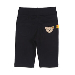 Steiff-pantaloni-jogging-Pantaloni-Marine-Newborn-TEDDY-Tg-62-68-74-80-86-0006616-NUOVO