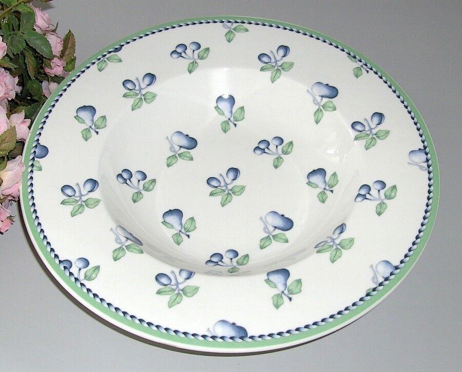 6er Set VILLEROY & BOCH Provence Miramar assiettes à soupe 24 cm NEUF v&b