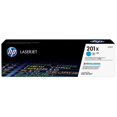 1x ORIGINAL HP TONER 201X CF401X Color LaserJet Enterprise m553dn m552dn