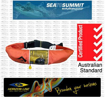 Resolve Inflatable Waist Belt PFD Life Jacket Kayak Fishing Safety, SUP Stand up