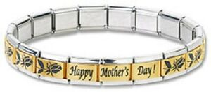 Italian-Charm-Bracelets-Happy-Mothers-Day-Stainless-Steel-Laser-Modular-Links