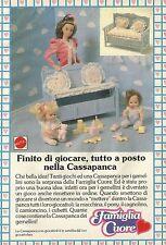 X2213 Famiglia Cuore e la Cassapanca - Pubblicità 1988 - Advertising
