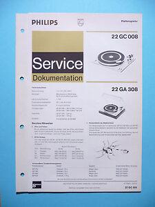 Istruzioni Manuale Di Servizio Per Philips 22 Gc 00822 Ga 208