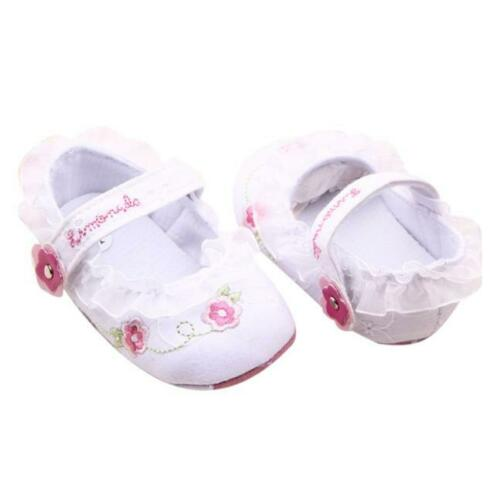 Baby Toddler Children Shoes Girls Floral Soft Sole Crib Walker Shoes Kids Boots