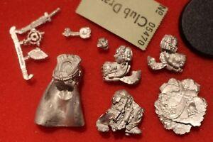 Atelier de jeux Warhammer Ultramarines 40k Figurine en métal Marneus Calgar New Oop Gw