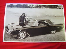 1962 FORD THUNDERBIRD LANDAU  11 X 17  PHOTO /  PICTURE