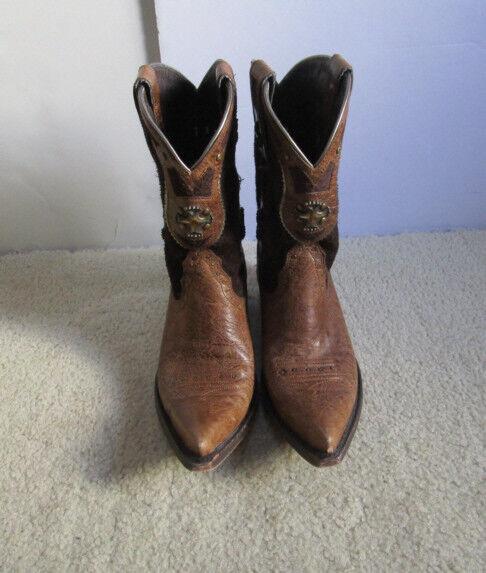 Ariat Style 10008756 Desperado Women's Brown Leather Western Boots Size US 7 B