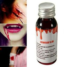30ml Coagulated Blood Gel Halloween Costume Party Special Effects Makeup Wounds