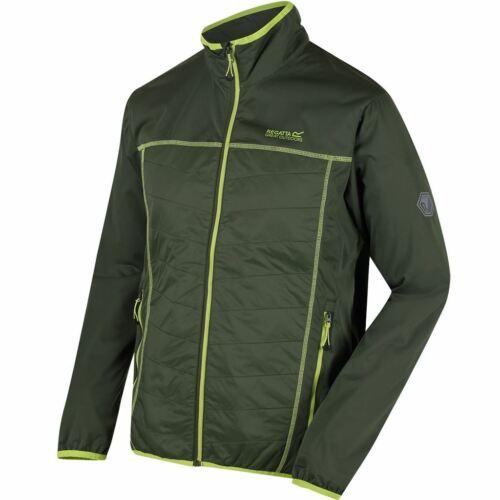 Regatta Mens Walson Hybrid Full Zip Stretch SoftShell Durable Jacket 50/% OFF