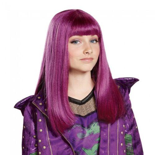 Disguise Disney Descendants 2 Mal Child Wig Halloween Costume Accessory 23790
