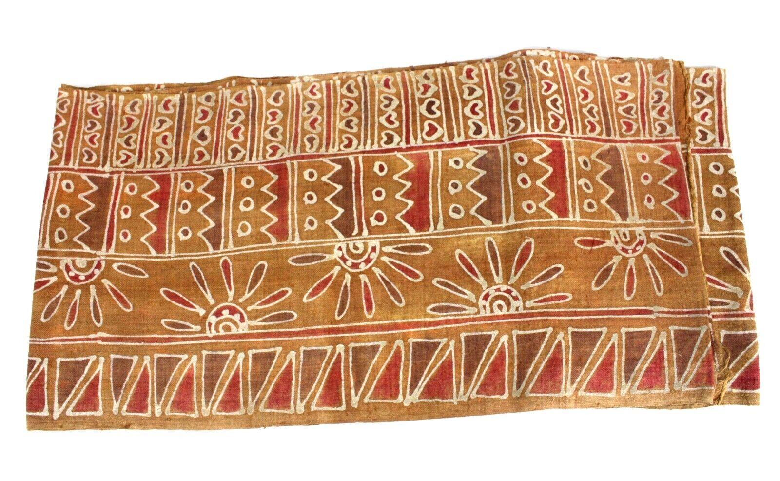 Thai linen batik fabric 545cm x 34cm home decor, wall hanging, table runner XL