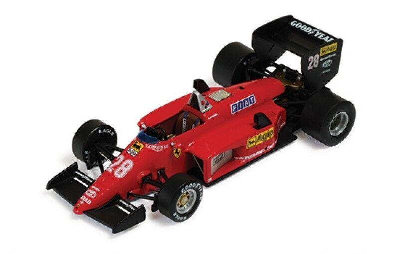 FERRARI LA STORIA  COLLEZIONE FERRARI 156-85 GP Brasiliano 1985 R. Arnoux