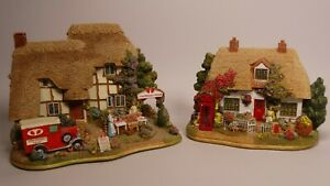 LILLIPUT-LANE-COTTAGE-THE-OLD-DOG-AND-BONE-L2608-amp-STRAWBERRY-FIELDS-L2683