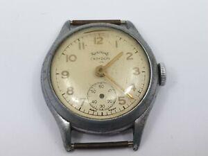 Rare-Vintage-Services-Croydon-Gentleman-039-s-Wrist-Watch-For-Repair-Vintage-Watch
