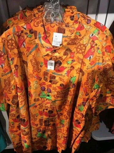 WDI MOG Disney Imagineering 2017 D23 Expo Pirates of the Caribbean Camp Shirt XL