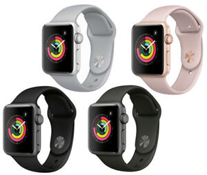 New-Apple-Watch-Series-3-42mm-Smartwatch-GPS-Aluminum-Case-Sport-Band