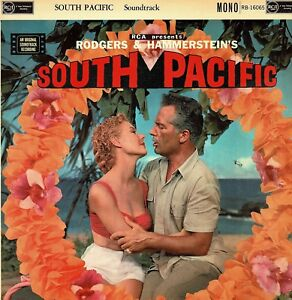 SOUTH-PACIFIC-Rodgers-amp-Hammerstein-Soundtrack-Vinyl-33-rpm-LP-Mono-RCA-DA