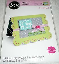 Sizzix Framelits CARD, SCALLOP W/BANNERS & GREETINGS DROP-INS #560147