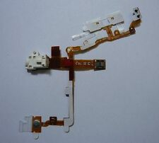 White Headphone Audio Jack Flex Ribbon Cable Replacement Part for iPhone 3GS