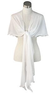 Chiffon-Bridal-Bridesmaid-Curvy-Wrap-Prom-Draping-Shawl-Cover-up-86-034-L