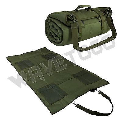 VISM NcSTAR Tactical Roll Up Lightweight Hunting Range Shooting Mat Green