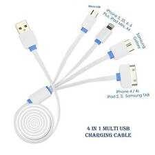 Usb 4 In 1 Multi Charger Cable For Samsung