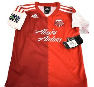 newest 4596f 92070 Details about adidas MLS Little Kids Portland Timbers Soccer Jersey NWT  S(4), M(5-6), L(7)