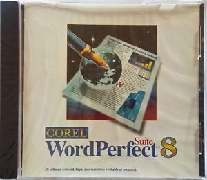 corel wordperfect suite 8 professional