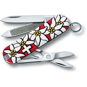 """Victorinox Schweizer Taschenmesser """"Edelweiss"""" Klein 5.8 cm edelweiss *NEU*"""